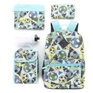 NWT Boy's 6pc Insulated Sports Backpack Set